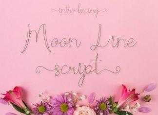 Moon Line Font