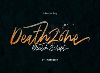 Death Zone Font