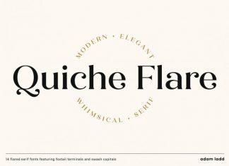 Quiche Flare Font