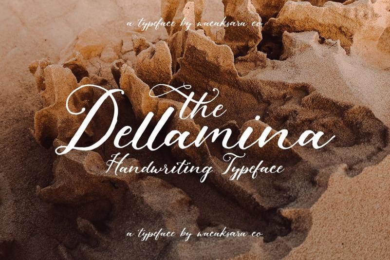 Dellamina Font