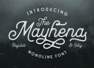 Mayhena Font