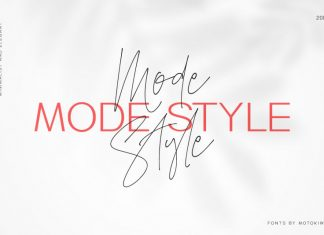 Mode Style Font