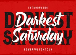 Darkest Saturday Font