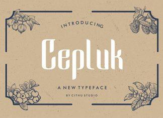 Cepluk Font