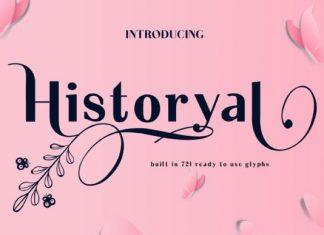 Historyal Font