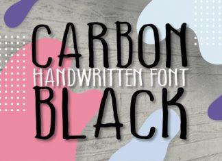 Carbon Black Font
