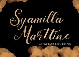 Syamilla Marttine Font