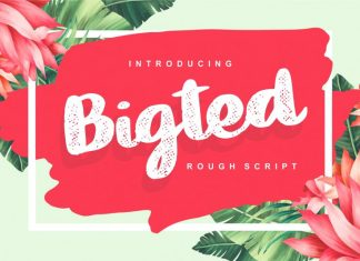 Bigted Font