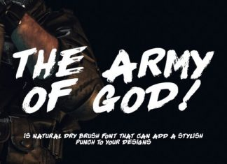 The Army of God Font