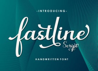 Fastline Font