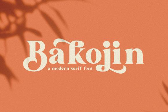 Bakojin Font