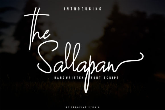 The Sallapan Font