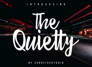 The Quietty Font