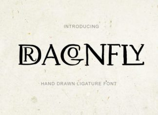 Dragonfly Font
