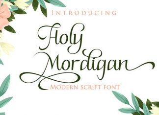 Holy Mordigan Font
