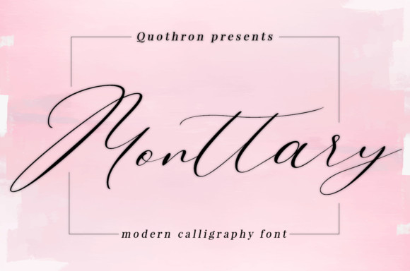 Monttary Font