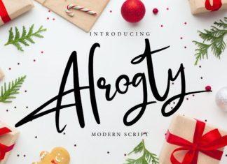 Alrogty Font