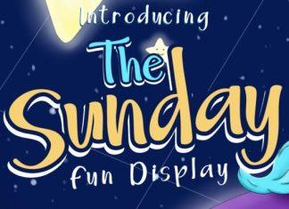 The Sunday Font
