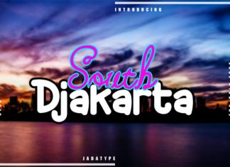South Djakarta Font