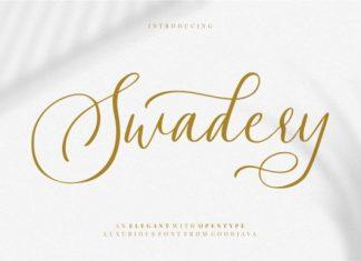 Swadery Font