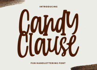 Candy Clause Font