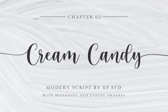 Cream Candy Font