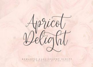 Apricot Delight Font