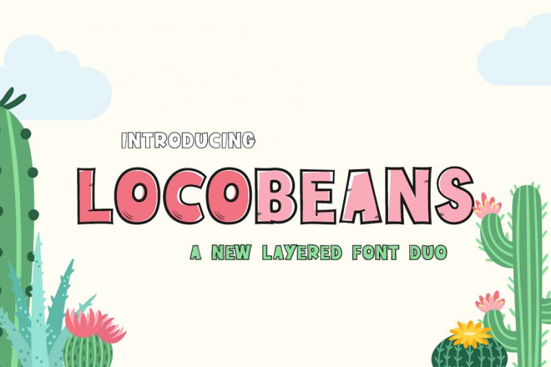 Locobeans Font