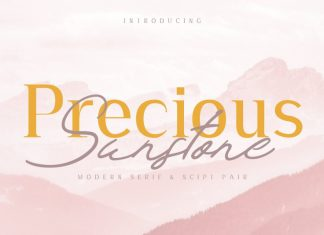 Precious & Sunstone Font