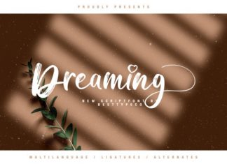 Dreaming Font