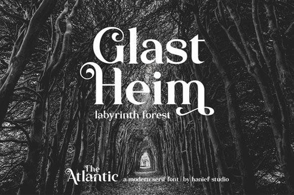 The Atlantic Font