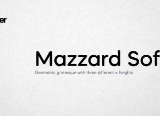 Mazzard Soft Font