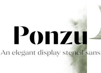 Ponzu Font