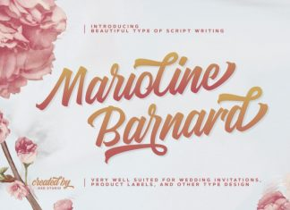 Marioline Barnard Font