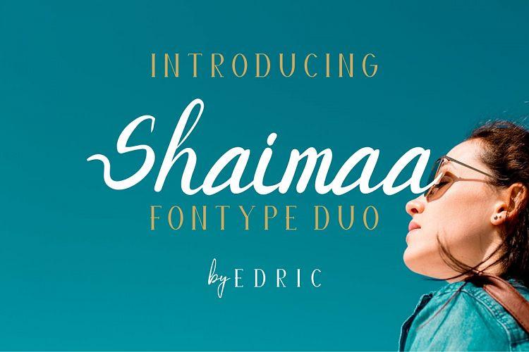 SHAIMAA Font