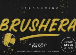 Brushera Font