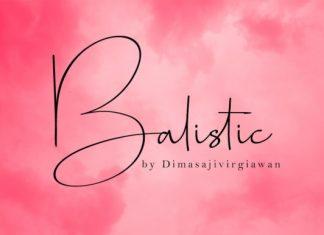 Balastic Font