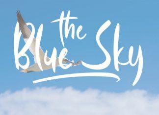 Blue Sky Font