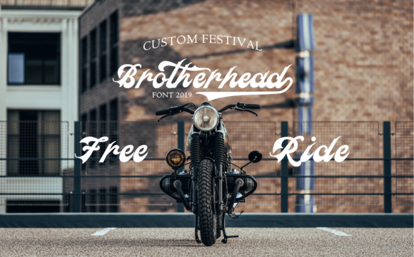 Brotherhead Font