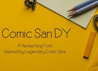 Comic SanDY Font