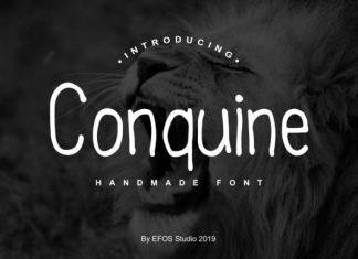 Conquine Font
