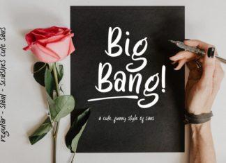 Big Bang! Font