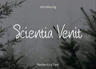 Scientia Venit Font