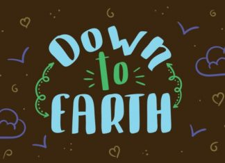 Down to Earth Font