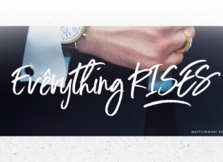 Everything Rises Font