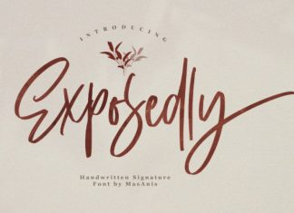 Exposedly Font