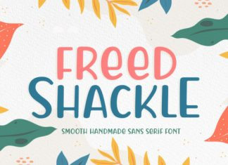 Freed Shackle Font