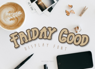 Friday Good Font