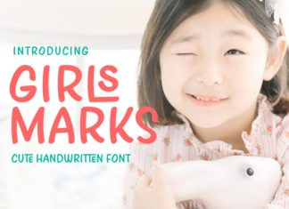 Girls Marks Font