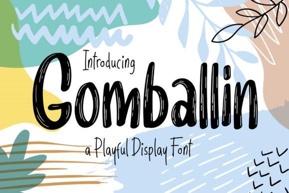 Gomballin Font